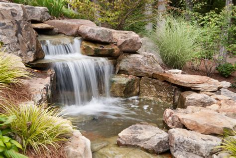 Backyard Waterfall Ideas 50 Pictures Of Backyard Garden Waterfalls Ideas Designs