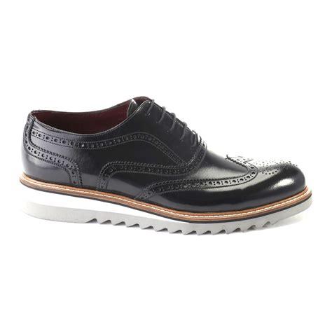 44 Dress Shoe by Medallion Wingtip Dress Shoe Black 44 Last Grab Dress Shoes Touch Of Modern