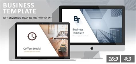 Modern Color Schemes by Minimalist Business Powerpoint Template