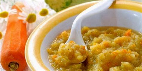 cara membuat nasi tim wortel bayam menu makanan sehat bayi 6 9 bulan edupost id