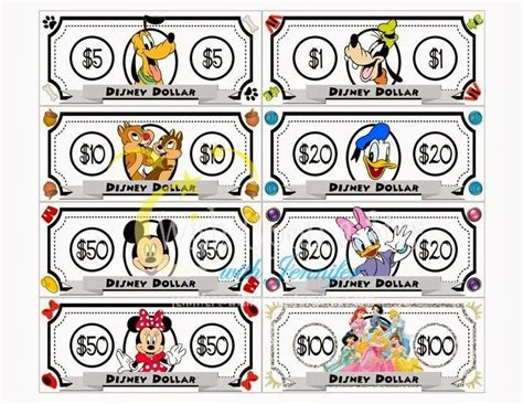 printable fake money for classroom 17 best images about disney clip art on pinterest disney