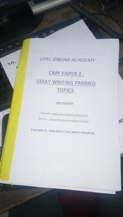 hard copy capf paper   solved topics