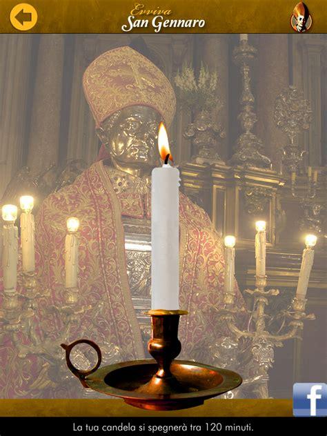 candela virtuale una candela virtuale per san gennaro