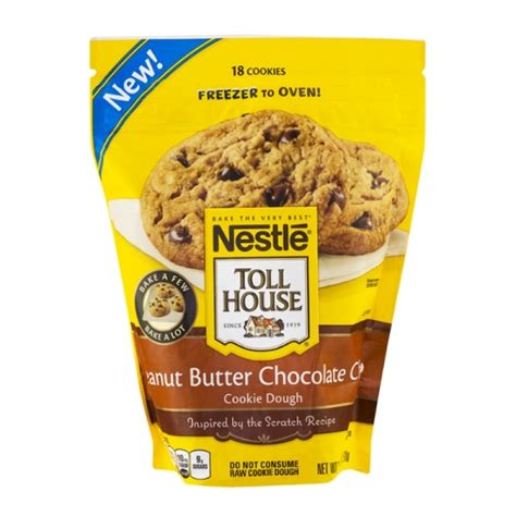 nestle toll house cookie dough nestle toll house frozen cookie dough peanut butter