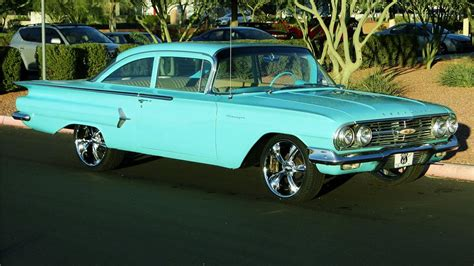 1960 CHEVROLET BISCAYNE CUSTOM COUPE   181870