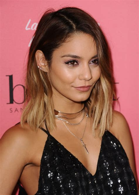 vanessa hudgens dyes her hair red breaking news and exclusive vanessa hudgens talks new series powerless