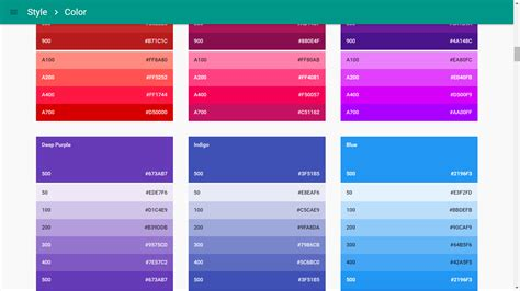 material design color schemes create a material color palette in no time