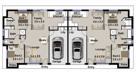 double bedroom independent house plans duplex 2 x 2 bedroom big living area real estate house