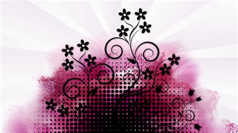 pink designs pink and black wallpaper designs 5 cool hd wallpaper