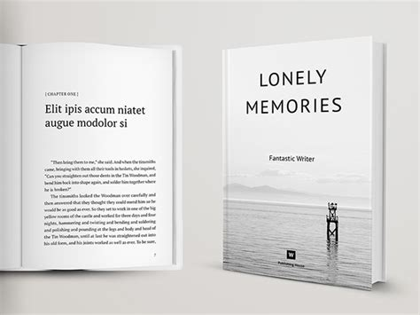 novel and poetry book template cover on behance