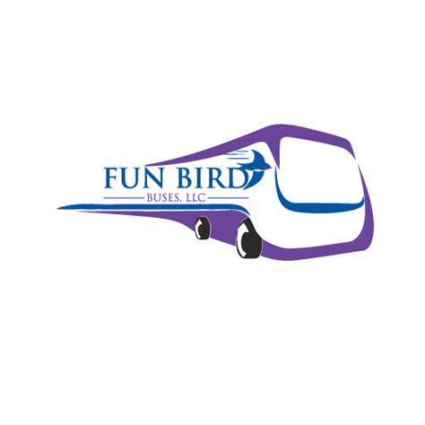 party bus logo 66 playful modern logo designs for fun bird buses llc a
