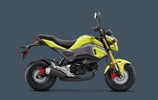 Honda Bikes Honda Restyles 2017 Grom 171 Motorcycledaily