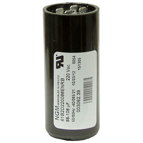 start capacitor mfd 88 108 mfd 220 vac start capacitor ngm 61b1d220036nnrb motor start capacitors capacitors