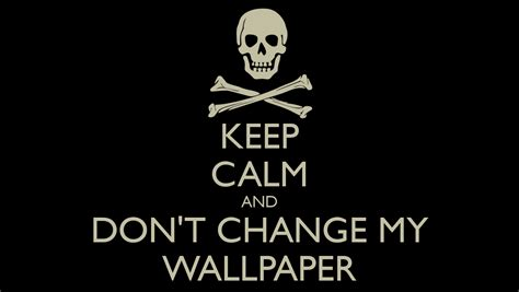 change background of my photo wallpaper keep calm