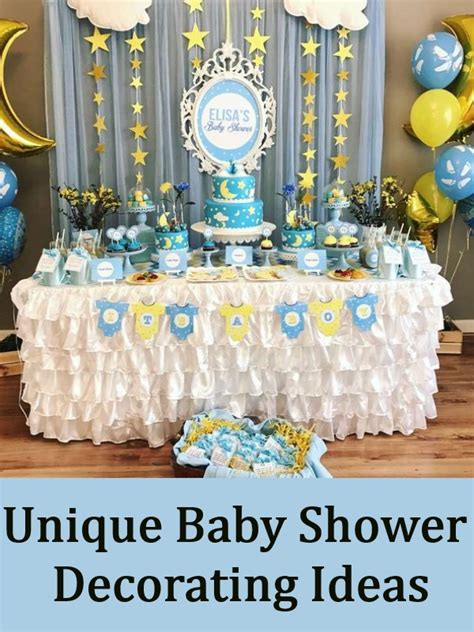 Unique Baby Shower Ideas For how to find unique baby shower decorating ideas baby