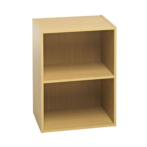 wilko functional 2 tier shelving unit oak effect at wilko