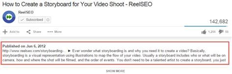 youtube video descriptions a how to guide to optimizing