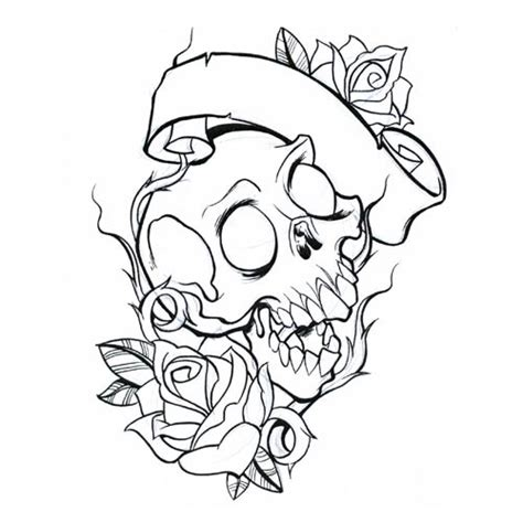 Skull Coloring Pages Getcoloringpages Com Skulls And Roses Coloring Pages