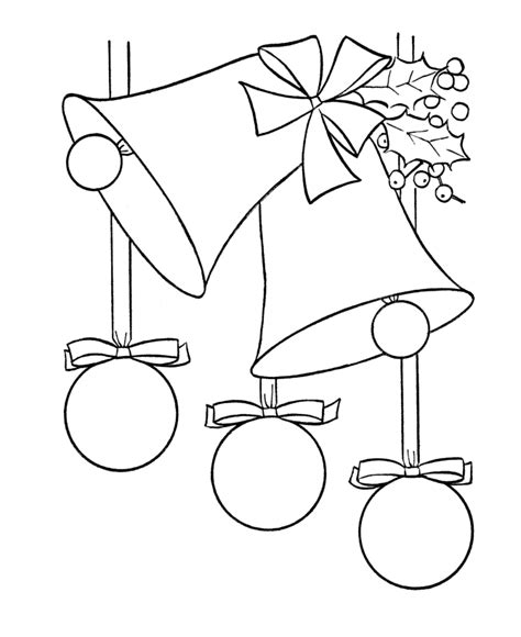 christmas ornaments coloring page az coloring pages