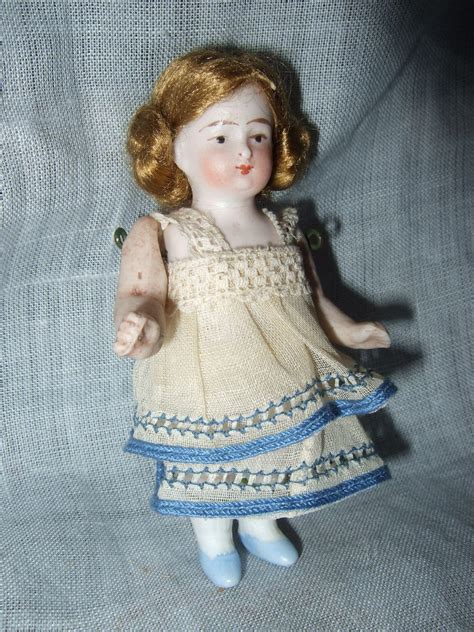 bisque doll 8093 all bisque german dollhouse miniature doll sold on ruby