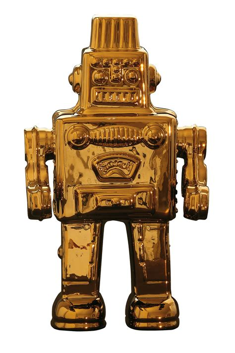home design gold edition limited gold edition robot design by seletti burke decor