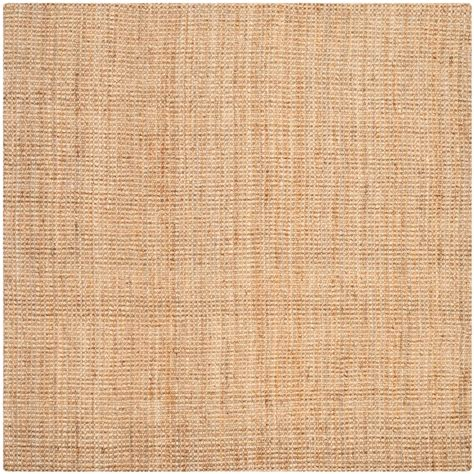 area rugs fiber safavieh fiber beige 9 ft x 9 ft square area rug nf747a 9sq the home depot