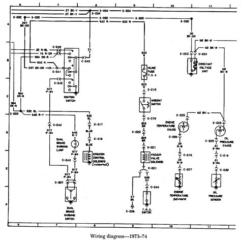 wiring diagrams for 74 bronco get free image about