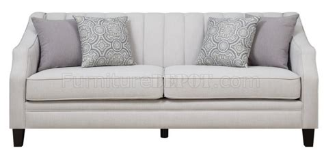 loxley sofa loxley sofa in grey fabric 551141 by coaster w options
