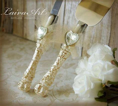 Wedding Cake Set by Ivory Wedding Cake Server Set Knife Cake Cutting Set