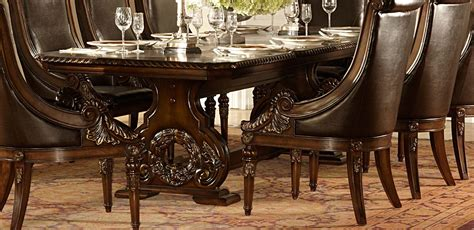 dining room tables dallas tx homelegance orleans trestle dining table dallas tx