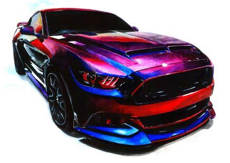 Car Paintings & Automotive Artwork Photo Gallery   DrawMyCar