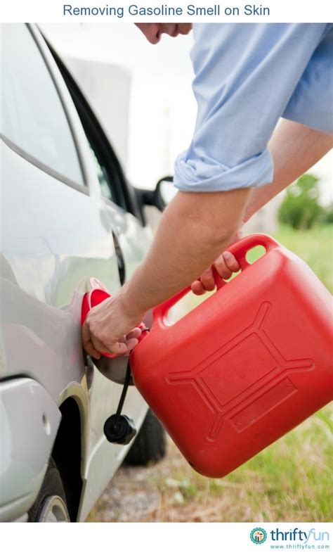 Gas Smell In Garage by Removing Gasoline Smell On Skin Thriftyfun