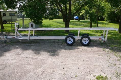 pontoon boat trailer ball size owner relocation sale 236 in alexandria minnesota by kan