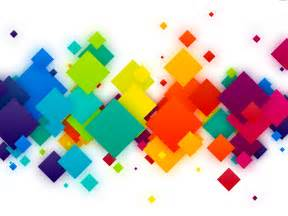 colorful shapes colorful squares background psdgraphics