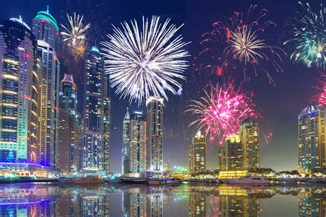 new year or new year 2018 fireworks in dubai uae events in uae
