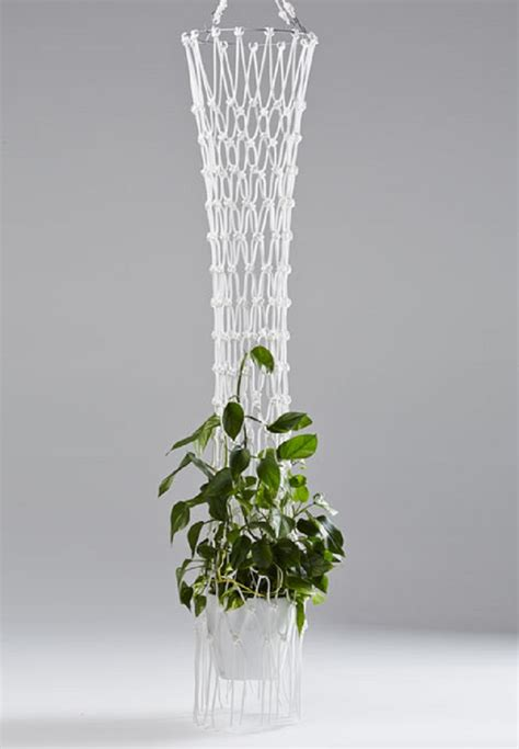 Macrame Planters - top 10 fancy ideas for macrame hanging planter top inspired