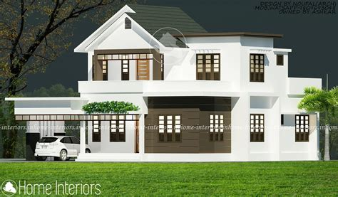 2813 sq ft 4 bhk modern home kerala home design and floor plans 2200 square 4 bhk floor modern home designs