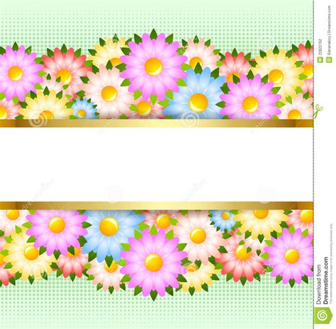 template that says cards flowers flower card template stock photography image 22822762
