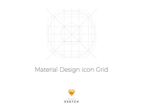 material design icon usage material design icon grid template by mattia astorino