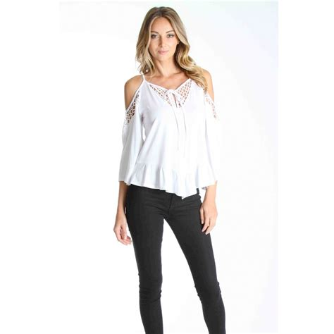 Open Shoulder Top vava by han hollie open shoulder top riders