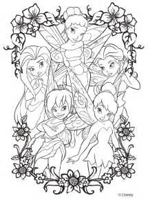 color by disney disney fairies coloring page crayola com