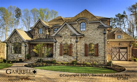 Chateau Home Plans by Country House Exteriors Country Chateau
