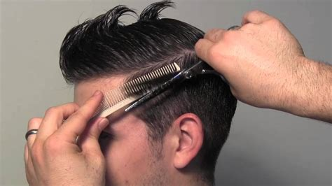 classic tailored men s hair cut youtube