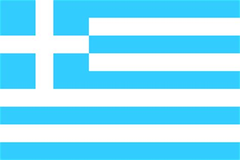flags of the world light blue greece