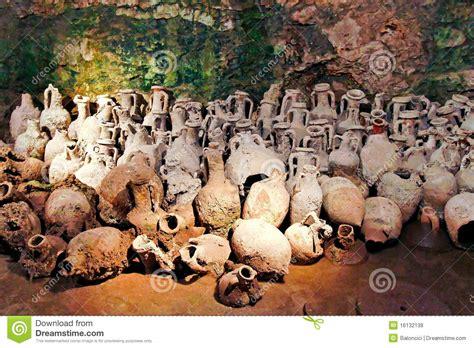 vasi antichi romani vasi romani fotografie stock libere da diritti immagine
