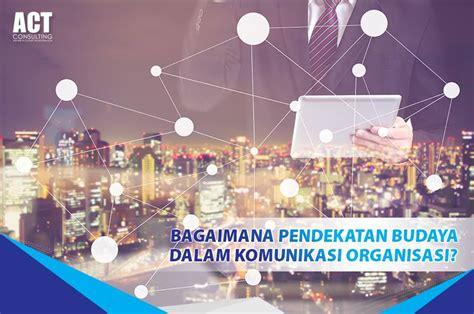 Komunikasi Organisasi Strategi by Bagaimana Pendekatan Budaya Komunikasi Organisasi Act