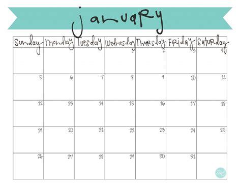 2014 monthly calendar printable calendar template 2016