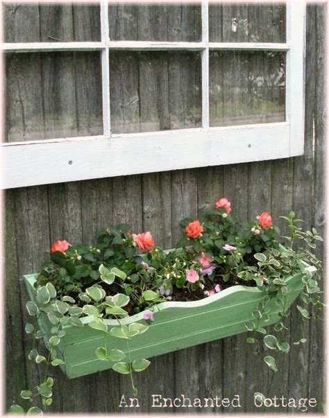 Fence Hanging Planter Box by Window Hanging From Wood Fence With Window Box Planter