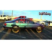 PROCHARGED Chameleon 96 Impala SS On 30 GOLD DUB FU Floaters