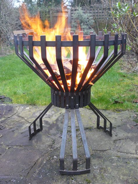 large firepits pits garden products wrought and riveted